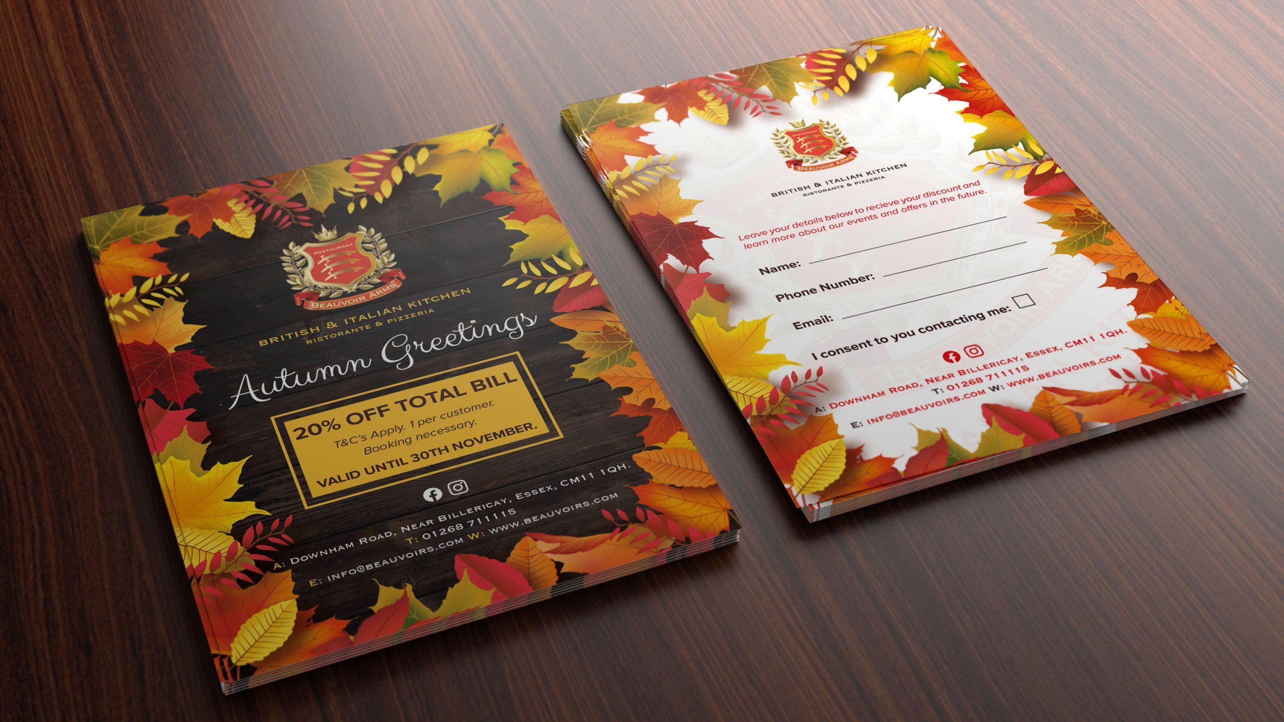Beauvoir-Arms-Autumn-Season-Flyer
